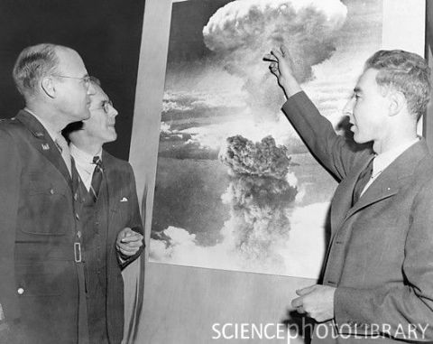 Oppenheimer atomic bomb lecture