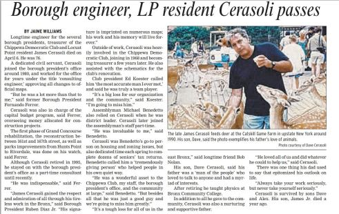 Bronx Times article.