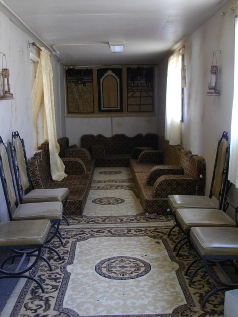 Furnished Iraq interior for practising raids