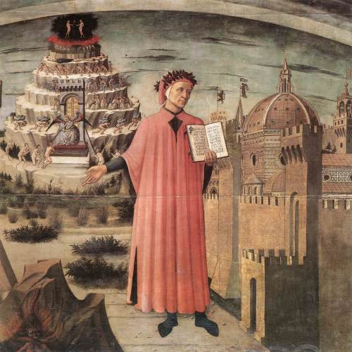 Domenico_di_Michelino_-_Dante_Illuminating_Florence_with_his_Poem_(detail)_-_WGA06422