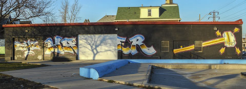 Graffiti Hamilton ON 2015