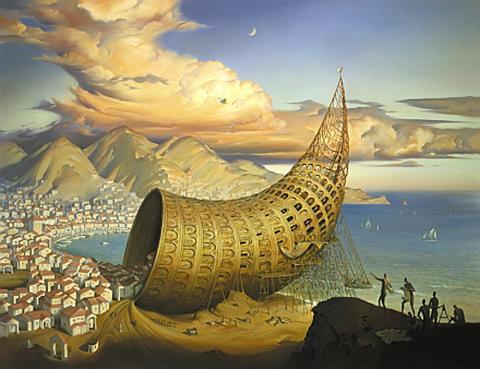 The Horn of Babel by Vladimir Kush