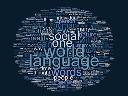 word cloud Making Meaning