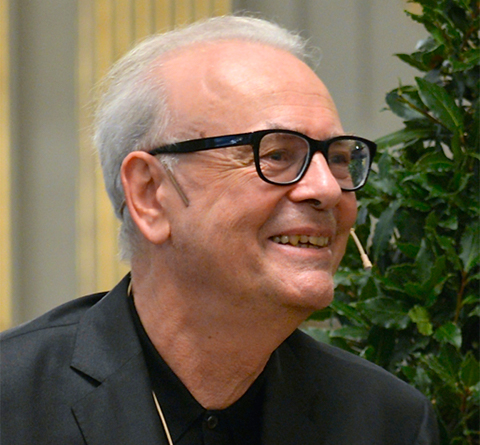 Patrick Modiano at Swedish Academy Press conference 2014