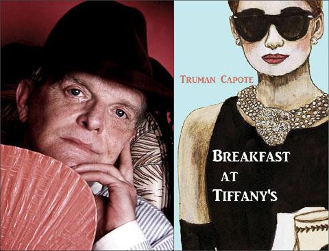 truman-capote-breakfast-at-tiffanys collage