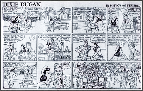 Dixie Dugan comic strip