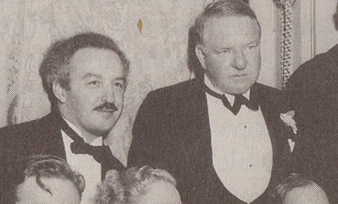 J P McEvoy with W C Fields 1934