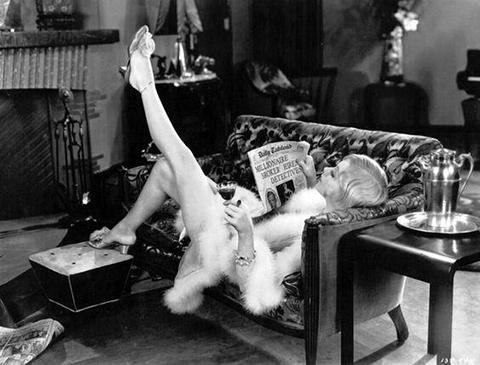 Scene from movie Show Girl starring Alice White 1