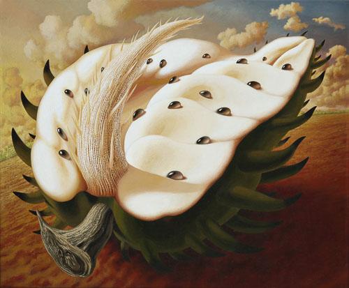 La Guanabana 2003 oil on canvas 20 x 24 in 500px