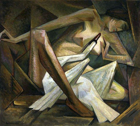 Leda and the Swan by Jerzy Hulewicz 1928
