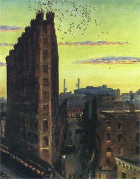 Cornelia Street 1922 by John Sloan