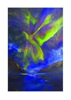 Skybird print by Greer Jonas