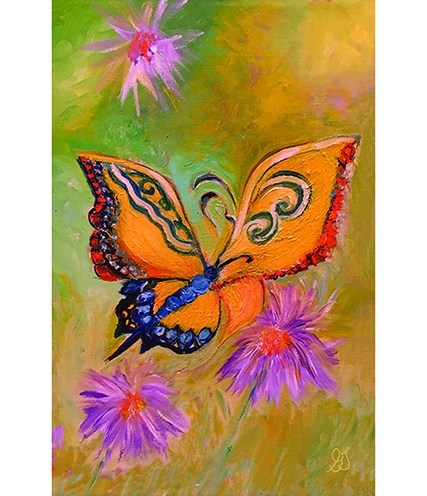 Butterfly print by Greer Jonas