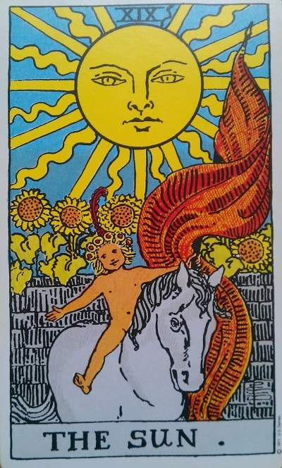 the sun tarot card meaning upright and