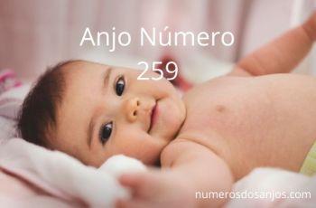 Anjo número 259 – Significado do anjo número 259