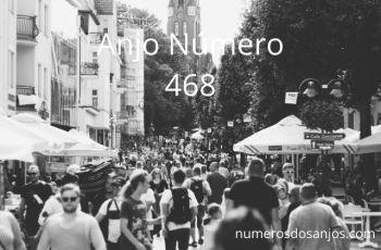 Anjo Número 468 – Significado do anjo número 468