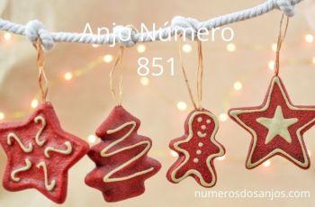Anjo Número 851 – Significado do anjo número 851