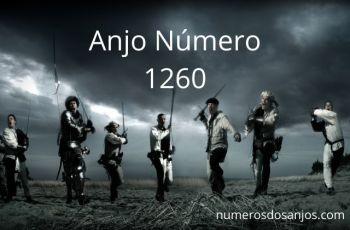 Anjo Número 1260 – Significado do anjo número 1260