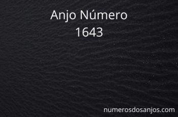 Número do anjo 1643: Mensagem de amor e carinho