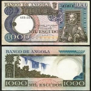 ANGOLA (31x) - 2 X 1.000 ESCUDOS 'Luis Camões' (1973) Nºs Seguidos - QNOVAS
