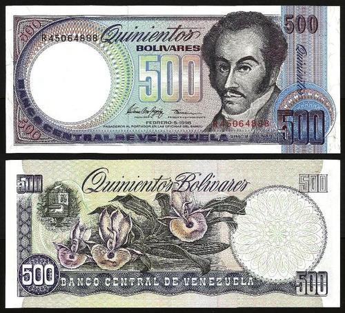 VENEZUELA .n067 - 500 BOLIVARES (1998) NOVA… Esc.