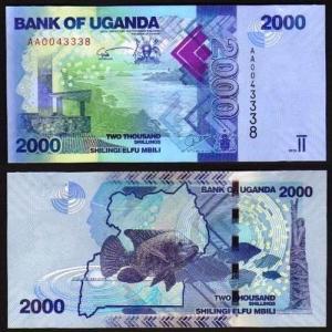 UGANDA .n50a - 2.000 SHILLINGS (2010) NOVA