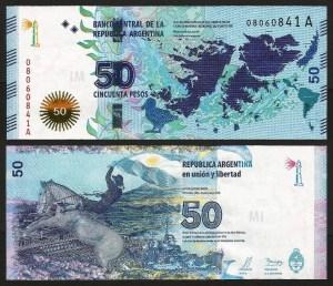 ARGENTINA .nv3 - 50 PESOS (2015) NOVA