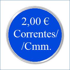 b. MD. CORRENTES / CMM - 2 EURO