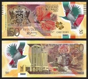 TRINDADE & TOBAGO .n59 (TRINIDAD & TOBAGO) - 50 Dollars (2015) NOVA