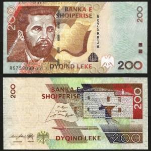 ALBÂNIA .n71b (ALBANIA) - 200 LEKE (2012) NOVA