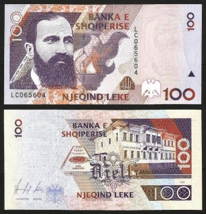ALBÂNIA .n62 (ALBANIA) - 100 LEKE (1996) NOVA… Esc