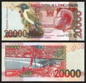 S. TOMÉ E PRÍNCIPE .n67c (SAINT THOMAS & PRINCE) - 20.000 DOBRAS (2004) NOVA