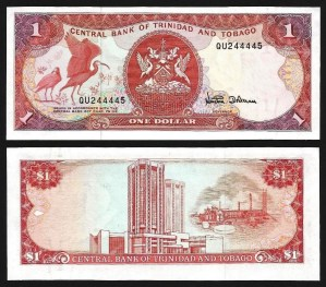 TRINDADE & TOBAGO .n36d (TRINIDAD & TOBAGO) - 1 Dollar (L 1979) NOVA… Esc.