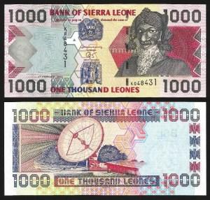 SERRA LEOA .n24a (SIERRA LEONE) - 1.000 LEONES (2002) NOVA