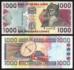 SERRA LEOA .n24c (SIERRA LEONE) - 1.000 LEONES (2006) NOVA