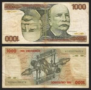 BRASIL .n197b (BRAZIL) - 1.000 CRUZEIROS (1979) CIRC... Dif.