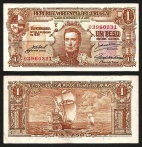 URUGUAI .n035c (URUGUAY) - 1 PESO (Lei 1939) BELA… Dif.
