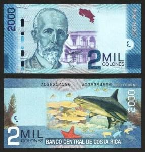 COSTA RICA .n274b - 1.000 COLONES (2013) NOVA +++++ VENDIDA +++++