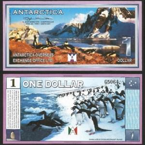 ANTÁRCTICA .n01 - 1 DOLLAR (1999) NOVA… Esc.
