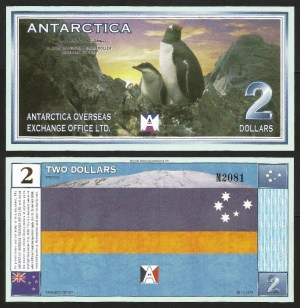 ANTÁRCTICA .n02 - 2 DOLLARS (1999) NOVA… Esc.