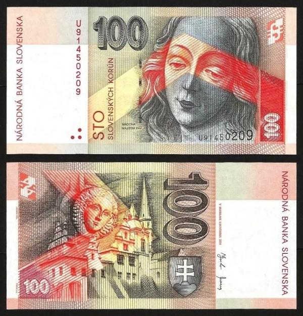 ESLOVÁQUIA .n44 (SLOVAKIA) - 100 KORUN (2004) NOVA