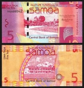 SAMOA .n38b - 5 TALA (2008-) NOVA