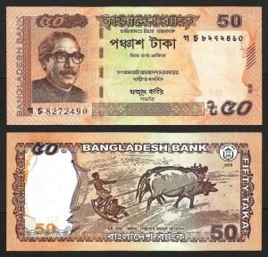 BANGLADESH .n56 A - 50 TAKA (2019) NOVA