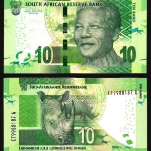ÁFRICA DO SUL .n138a (SOUTH AFRICA) - 10 RAND 'Nelson Mandela' (2013/16) NOVA