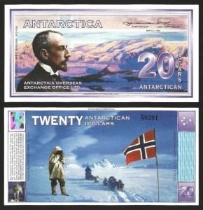 ANTÁRCTICA .n09 - 20 DOLLARS (1996) NOVA… Esc.