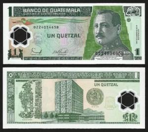 GUATEMALA .n109a - 1 QUETZAL (2006) NOVA