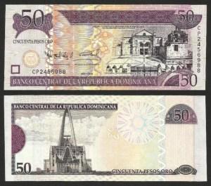 REP. DOMINICANA .n176b (DOMENICAN REP.) - 50 PESOS OURO (2008) QNOVA