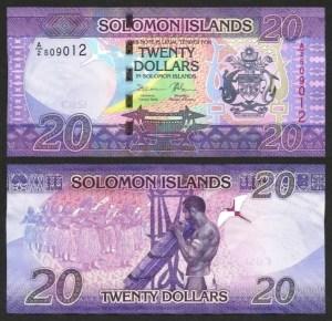 ILHAS SALOMÃO .n34 (SOLOMON ISLANDS) - 20 DOLLARS (2017) NOVA
