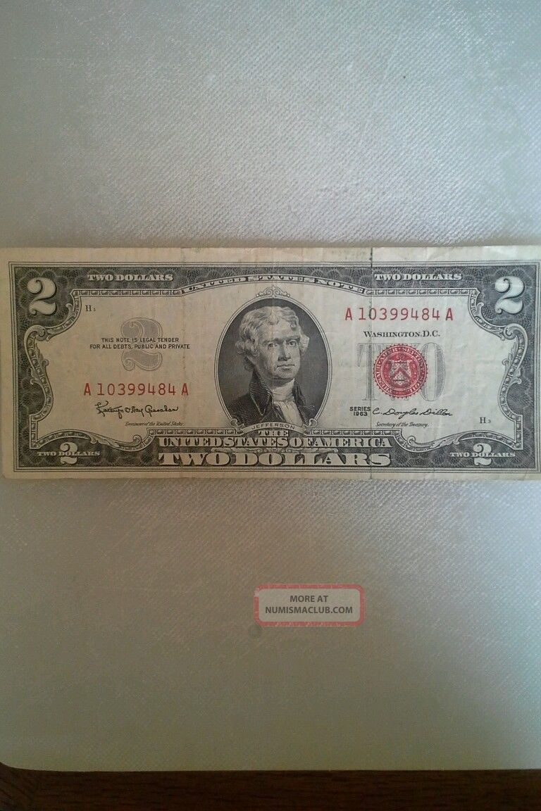 1963 1 Dollar Bill Value