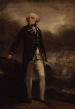 NPG 75,Richard Howe, 1st Earl Howe,by Henry Singleton